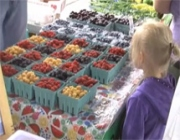 Traverse City's Sara Hardy Farmers Market joins the Double Up Food Bucks program on Aug. 13.